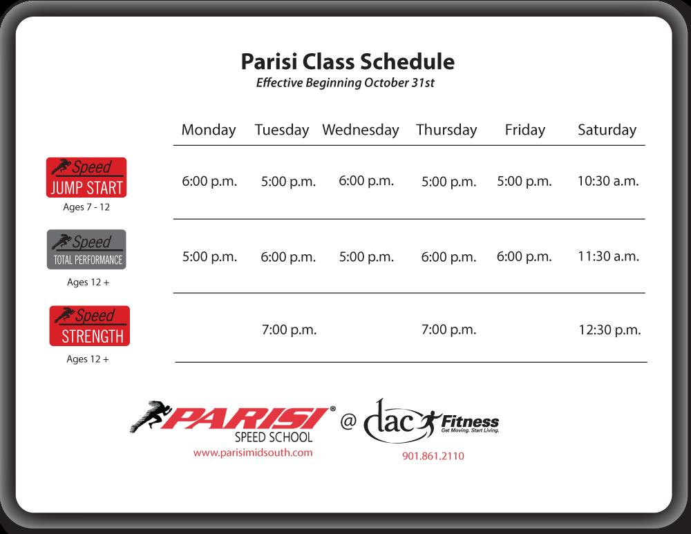parisi-class-schedule